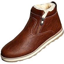 SGoodshoes Uomo Stivali Tooling Stivali in PU Pelle Invernali scarpe  sneakers 18d11dbb8f3