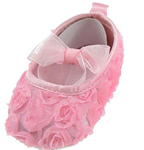 Bonnet by cressida, bébé fille souples pour bébé de 0–6 mo & à 36. rose foncé