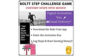 Boltt Coin Step Challenge Game - Convert Steps into Money (Email Delivery in 2 Hours - No CD)