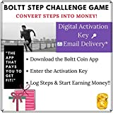 #6: Boltt Coin Step Challenge Game - Convert Steps into Money (Email Delivery in 2 hours)