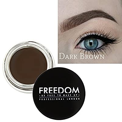 Freedom Makeup Eyebrow Definition Brow Pomade Dark Brown by Freedom Makeup London