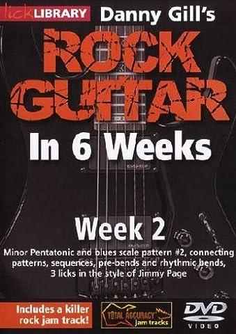 Danny Gill's Rock Guitar In 6 Weeks: Week 2 DVD [2010] [Region 1] [NTSC]