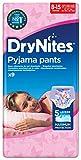 Huggies DryNites Mädchen Nachthöschen, 8-15 Jahren, 9 Stück
