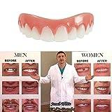 Kosmetische Zähne Zahnersatz Schöne Perfekte Lächeln Zähne Instant Smile Zahn Makeover Kleine Größe Veneers