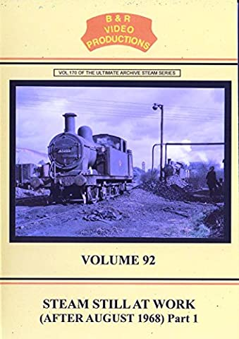 B & R No. 92 - Steam Still At Work No. 1 Dvd (After August 1968) B&R Video Productions