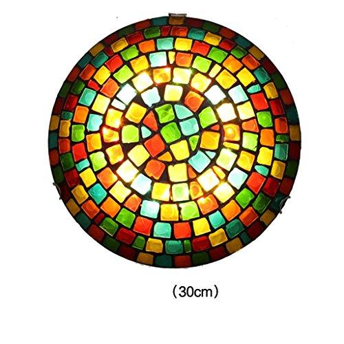 zxw-pers5onlichkeit-mosaik-deckenleuchte-glas-schlafzimmer-lichter-art-lampen-led-flecken-gre-30cm-