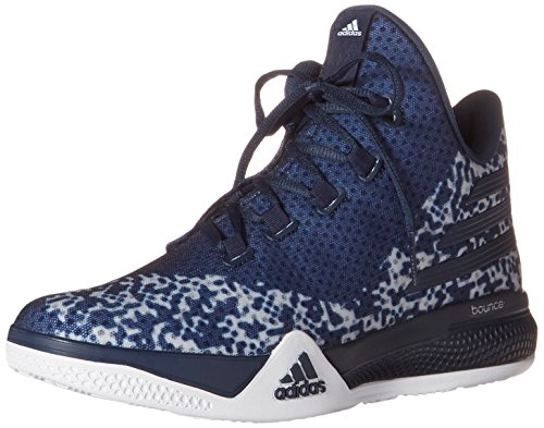 Adidas Performance Licht Em Up 2 Basketball-Schuhe, weiÃ? / schwarz / Onix Grau, 6,5 M Us Light Onix Grey/Collegiate Navy/White