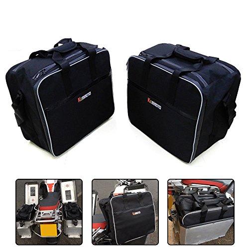 Issyzone Pannier Liner Taschen,Innentasche Variokoffer Gepäck Koffer Links und rechts Set Kompatibel mit R1200GS F800GS Adventure 2013-2018
