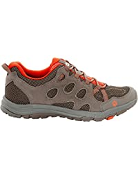 Jack Wolfskin Mens Rocksand Chill Low Breathable Mesh Walking Shoes
