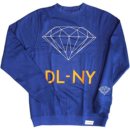 Diamond Supply Co. DL-NY Sweatshirt Royal (Co Diamond Pullover Supply)