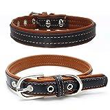Balock Schuhe Welpen Hundehalsbänder,Einstellbare Schnalle Hund Welpen Hundehalsbänder,Puppy Cat Halskette für Kleine, Mittlere,Hunde,für Mädchen Jungen (Braun, XS)