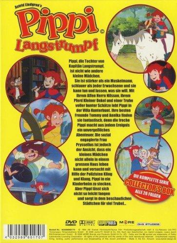 Pippi Langstrumpf - Die komplette Serie (Folge 01-26) [4 DVDs]: Alle Infos bei Amazon