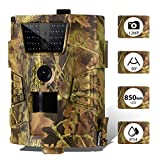 SUNTEKCAM WildLife Camera 12MP 1080P Full Infrared LED Trail Camera 90 ° Wide - Best Reviews Guide