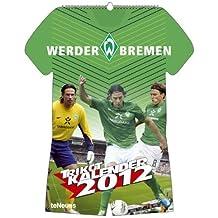 Werder Bremen Trikotkalender 2012