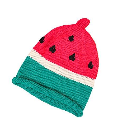 Leisial™ Bebés Sombrero para Infantil Casquillo de la Sandía Forma de fruta  Gorro de Algodón 3633c0f1050
