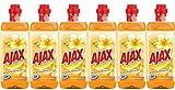 AJAX Allzweckreiniger Orange und Jasmin, 6er Pack (6 x 1 l)