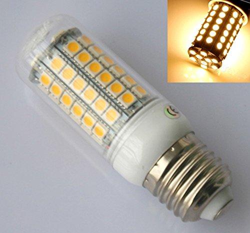 Preisvergleich Produktbild E27 8W 69 LED 5050 SMD Leuchtmittel Birne Mais Leuchte Lampe Warm weiß 230V AC