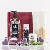 Natures cestini Luscious lavanda mani Gift bag–Crema per le mani e lavaggio a mano–Set regalo per lei–intensive Hand Cream–Compleanno per lei–regalo di Natale–Xmas present