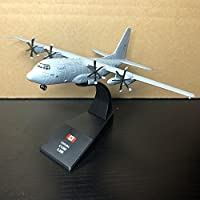 AMER 1/200 Scale Military Model Toys CANADA C-130J Hercules Transport Aircraft Diecast Metal Plane Model Toy For Collection