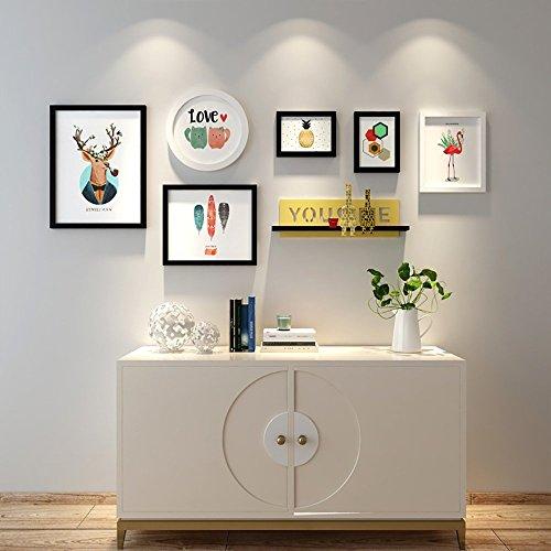 Galerie Portfolio (LongYu Foto Wand Portfolio Wanddekorationen Bilderrahmen Galerie Wohnzimmer Bilderrahmen Wandbilder Kinderzimmer Schlafzimmer 7 Zoll 10 Zoll 12 Zoll 16 Zoll)