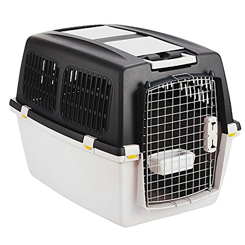 Hunde-Transportbox GULLIVER MEGA 71 x 50 x 51cm Reisebox für Hunde bis 18 kg
