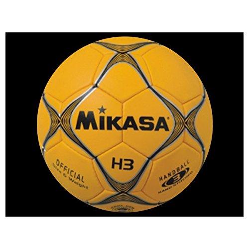 Mikasa H-3 - Balón de balonmano, color naranja, talla 3