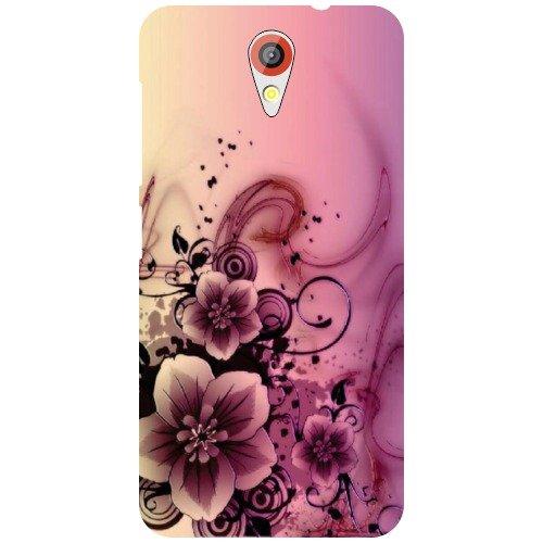 HTC Desire 620G Back Cover - Flowers Designer Cases