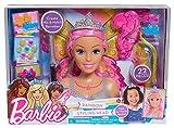 Just Play - 62625- Barbie Tête à coiffer Dreamtopia - Arc...