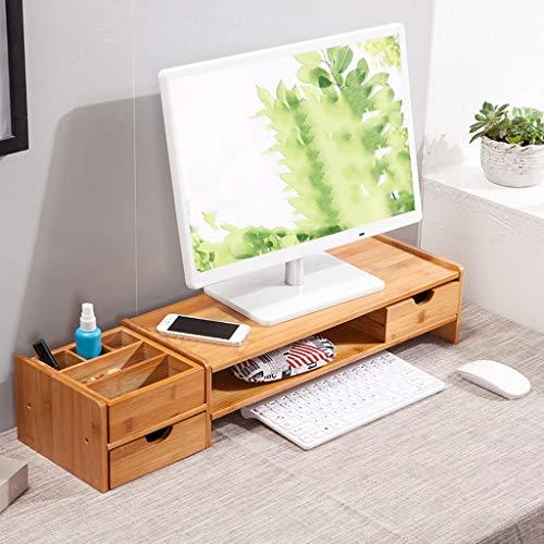 Minmin-zhenggaojia Desktop-Computer-Monitor erhöhte Regalbefestigung für hohe Sockelhalterung für Schreibtisch-Aufbewahrungsbox-Tastaturablage