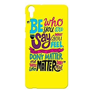Back Cover for HTC Desire 820 : By Kyra