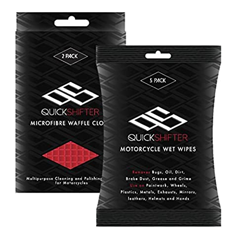 Quick Shifter Bundle Motorcycle Cleaning Kit