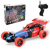 Joy-Jam Gifts for 5-12 Year Old Boys PUZ Toy Fast RC Cars for Kids 14KM/H Remote Control Race Car for Children 2.4Ghz 1:24 Scale Alloy Rally High Speed Car Birthday Presents Christmas Birthday Gifts