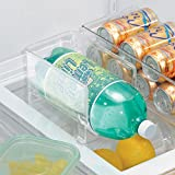 InterDesign Stackable 1 Soda Bottle Holder for Storage, Clear