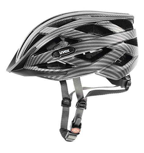 Uvex I-VO CC - Casco de ciclismo black carbon look mat Talla:52-57 cm