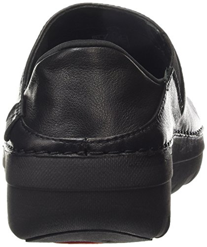 Fitflop Superloafer Tm Leather Scarpe Low-Top Nero (All Black)