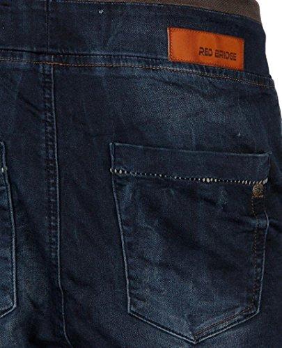 Red Bridge Homme Jeans / Jeans Straight Fit Jogger Noir