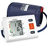 FANRY Automatic Upper Arm Blood Pressure Monitor, Batteries Included, FDA Certified Digital Blood