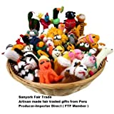 Sanyork Fairly Traded Finger Puppets Set Of 10 Assortment Birds