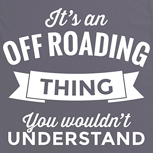An Off Roading Thing T-Shirt, Herren Anthrazit