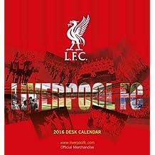 The Official Liverpool 2016 Desk Easel Calendar