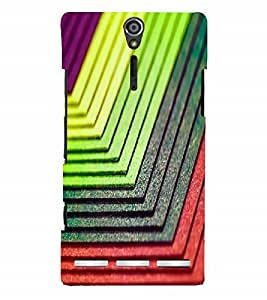 Nextgen Designer Mobile Skin for Sony Xperia SL :: Sony Xperia S :: Sony Xperia SL LT26I LT26ii (Lovely Colourful Beautiful Good looking One By One)