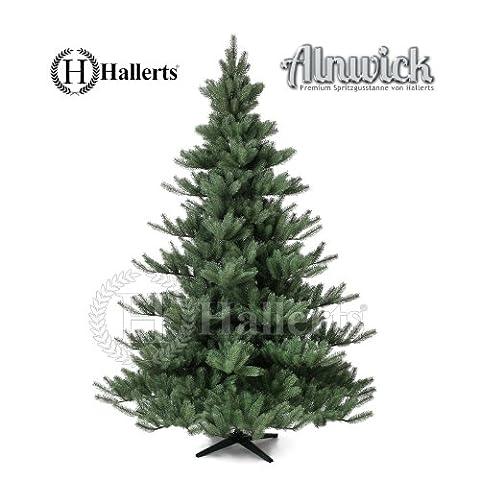 Künstlicher Weihnachtsbaum Spritzguss PREMIUM Nordmanntanne 210 cm Kunsttanne Christbaum Spritzguss Weihnachtsbaum Hallerts Spritzgusstanne
