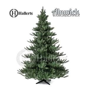 Künstlicher Weihnachtsbaum Spritzguss PREMIUM Nordmanntanne 210 cm Kunsttanne Christbaum Spritzguss Weihnachtsbaum Hallerts Spritzgusstanne Alnwick