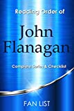 John Flanagan Books Checklist and Reading Order : Ranger's Apprentice Series in Order, Jesse Parker Series in Order, Brotherband Chronicles in Order