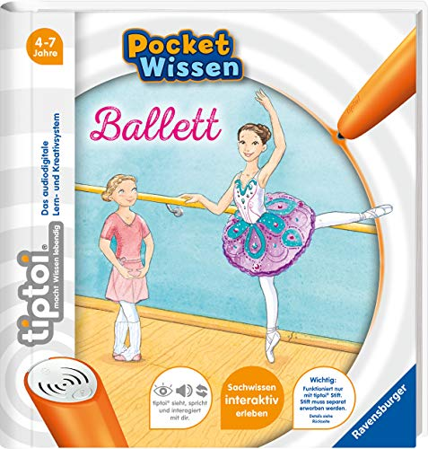 tiptoi® Ballett (tiptoi® Pocket - Deutsche Ballett Kostüm
