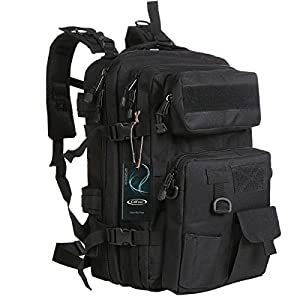 51u6uW9iEXL. SS300  - G4Free 40L Tactical Assault Backpack Water Resistant Army Molle Backpack Military Rucksack with Detachable Pouch for Outdoor Hiking Camping Trekking Hunting