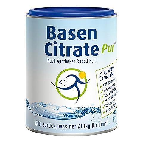 MADENA BasenCitrate Pur nach Apotheker Rudolf Keil | Basenpulver 216g
