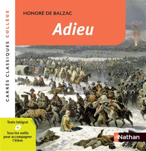 Adieu - Balzac par Honoré de Balzac