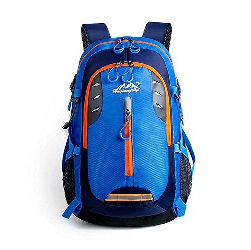 Borsa a tracolla impermeabile 20-35L all'aperto alpinismo Zaino Multi-Function grande capacità Vento Collegio , orange Blue
