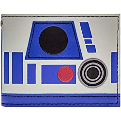 Cartera de Disney Star Wars R2-D2 Azul